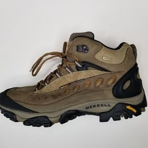 Merrell Pulse ll waterproof mid hikers size 10.5